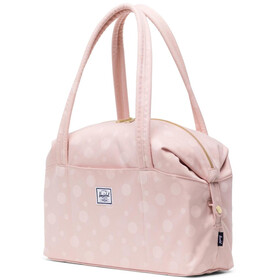 Herschel Strand Small Tote Bag, polka cameo rose